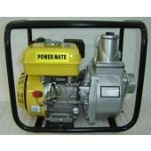 Power Mate bensindrevet vannpumpe 5,5 hk