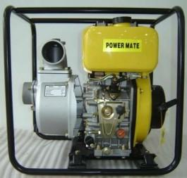 Power Mate dieseldrevet vannpumpe 8 hp