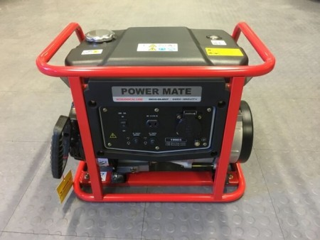 STRØMAGGREGAT POWER MATE PORTABLE 1990 S
