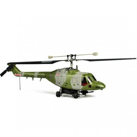 Westland Lynx Helikopter med 5.8Ghz live Video og farge-monitor