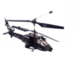 Lama Apache 3 ch 3D RC helikopter